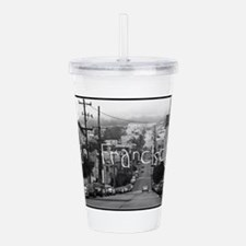 San Francisco Street Acrylic Double-wall Tumbler