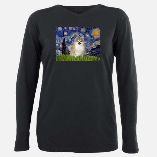 Starry Night Pomeranoan T-Shirt