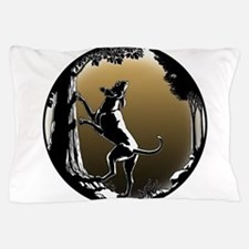Hound Dog Art Hunting Dog Pillow Case