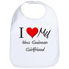 I Love My New Guinean Girlfriend Bib