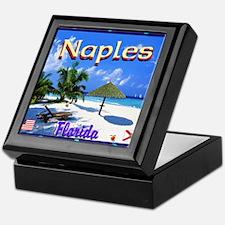 Naples Florida Keepsake Box