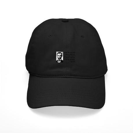 Abraham Lincoln 10 Black Cap