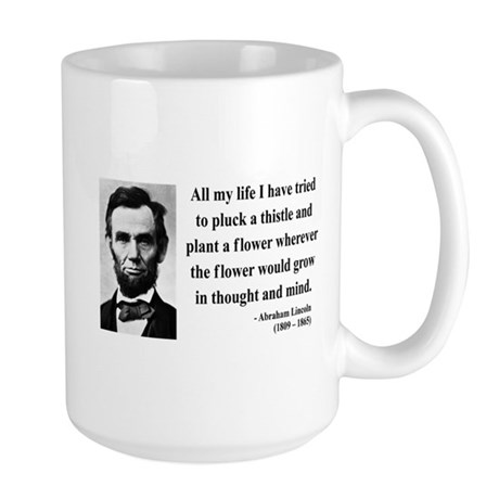 Abraham Lincoln 10 Large Mug