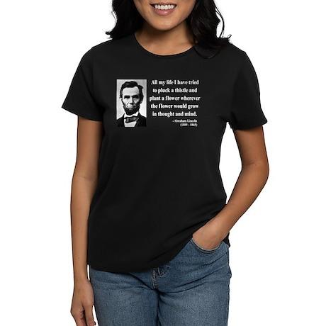 Abraham Lincoln 10 Women's Dark T-Shirt