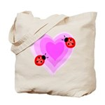 Ladybug Love Tote Bag
