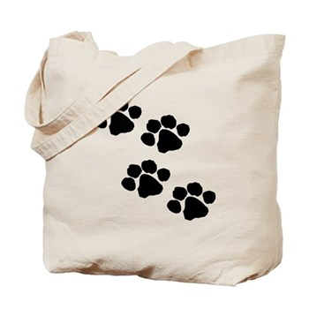 Paw Prints For Pet Owners Tote Bags
