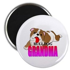 Bulldog Grandma Magnet