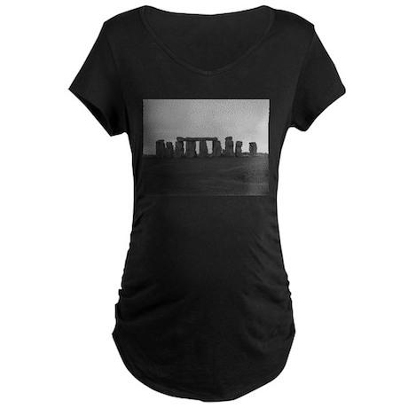 Stonehenge Maternity Dark T-Shirt