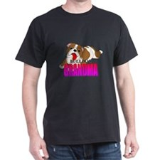 Bulldog Grandma T-Shirt