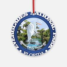 Everglades NP Round Ornament
