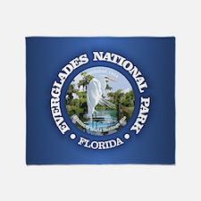 Everglades NP Throw Blanket