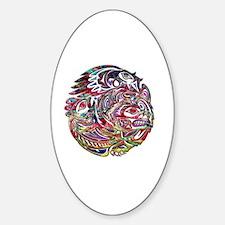 Unique Digital Sticker (Oval)