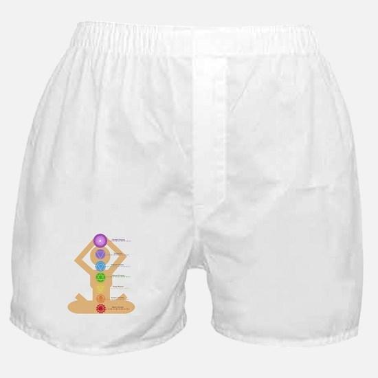 The Chakras Boxer Shorts