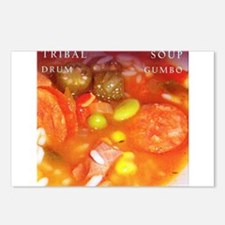 Tribal Soup Drum Gumbo Postcards (Package of 8)