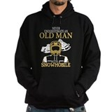 Snowmobile Dark Hoodies