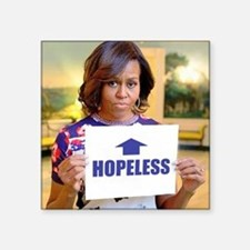 Michelle Obama Hopeless Sticker