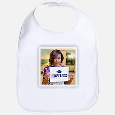 Michelle Obama Hopeless Baby Bib