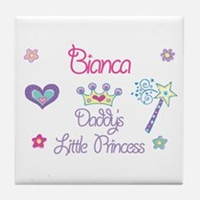 Bianca - Daddy's Little Princ Tile Coaster