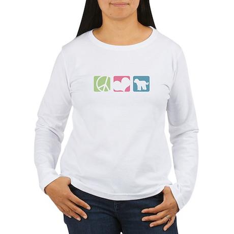Peace, Love, Doodles Long Sleeve T-Shirt