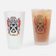 Judge Coat of Arms - Family Crest Drinking Glass