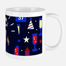 happy new year donald trump Mugs
