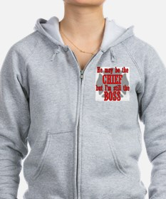 He's Chief I'm still Bos Sweatshirt