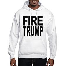 Fire Trump Hooded Sweatshirt