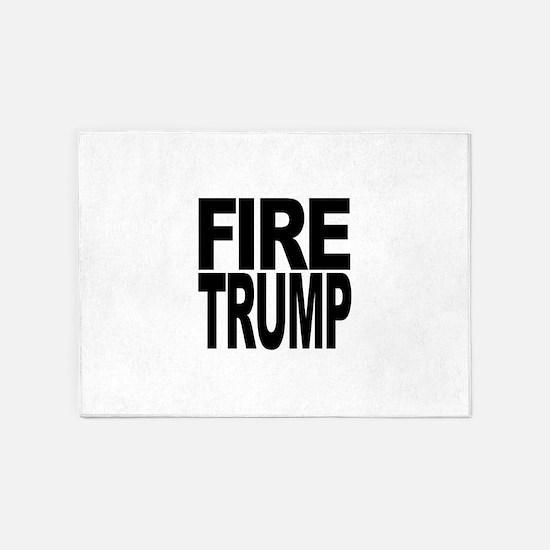 Fire Trump 5'x7'Area Rug