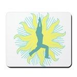 CENTERED YOGA Mousepad