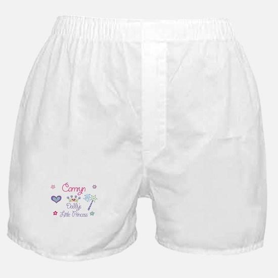 Camryn - Daddy's Little Princ Boxer Shorts