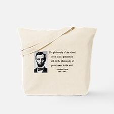 Abraham Lincoln 14 Tote Bag