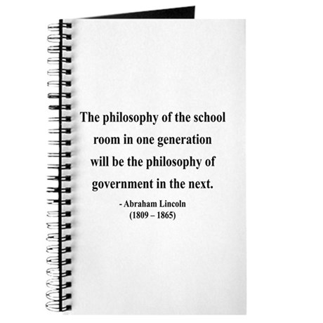 Abraham Lincoln 14 Journal