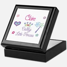 Claire - Daddy's Little Princ Keepsake Box