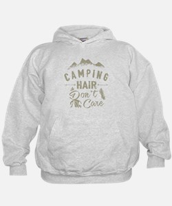 Camping Hair Don't Care T Shirt Sweatshirt