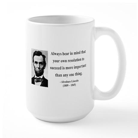 Abraham Lincoln 15 Large Mug