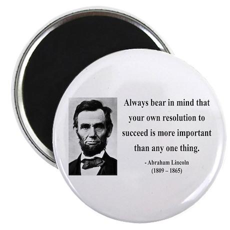 "Abraham Lincoln 15 2.25"" Magnet (10 pack)"