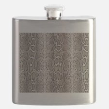 cobra snake skin pattern Flask