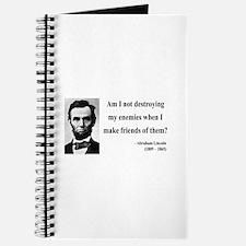 Abraham Lincoln 16 Journal