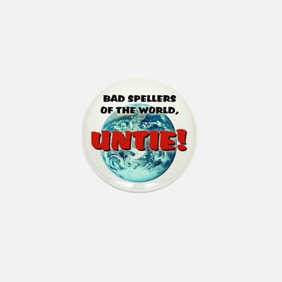"""""""Bad Spellers"""" - Mini Button"""