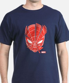 Spider-Man Red Mask T-Shirt