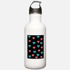 Cool Peace love fitness Water Bottle