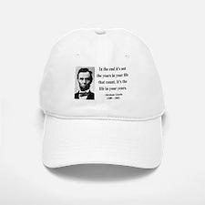 Abraham Lincoln 17 Baseball Baseball Cap