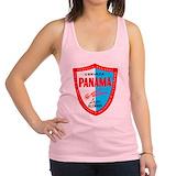 Cerveza panama Womens Racerback Tanktop