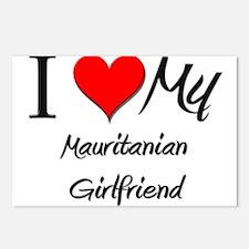 I Love My Mauritanian Girlfriend Postcards (Packag
