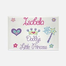 Isabella - Daddy's Little Pri Rectangle Magnet (10