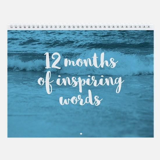 Inspiring Words Wall Calendar - Nature