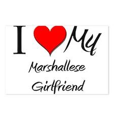 I Love My Marshallese Girlfriend Postcards (Packag