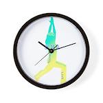 SOULFUL YOGA Wall Clock