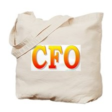 CFO - Chief Financial Officer Tote Bag
