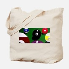 Cute The game of 9 ball Tote Bag